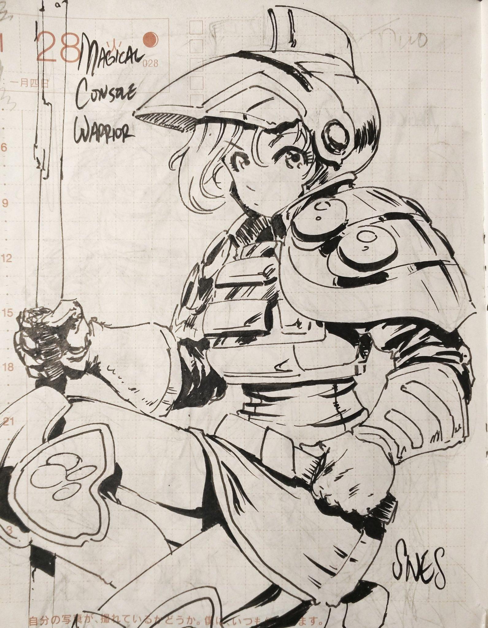 Magical Console Warrior SUPER NINTENDO