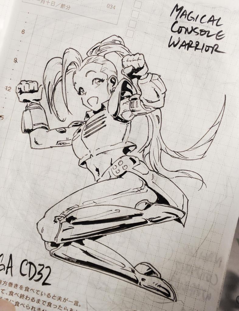 Magical Console Warrior AMIGA CD32